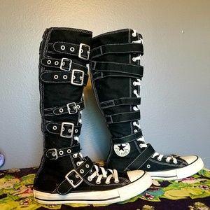 Converse Knee High Buckles Chuck Taylor