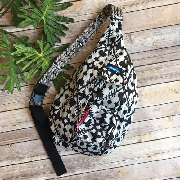 Kavu Bags Rope Sling Bag In Ikat Ink Blot Poshmark