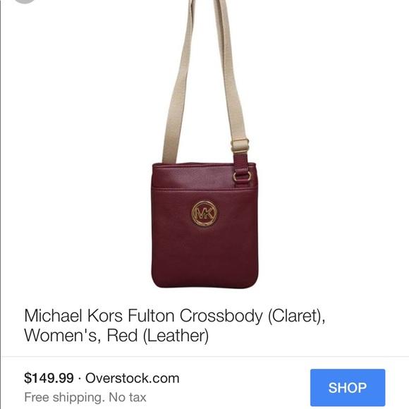 d0ed90c23340af KORS Michael Kors Bags   Michael Kors Fulton Crossbody Bag   Poshmark
