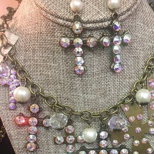 Jewelry - Pink Panache Necklace & Earrings
