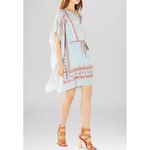 NWT BCBG Alexi Split Shoulder Caftan Dress