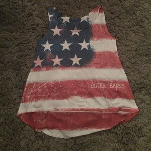 Tops - Flag tank top