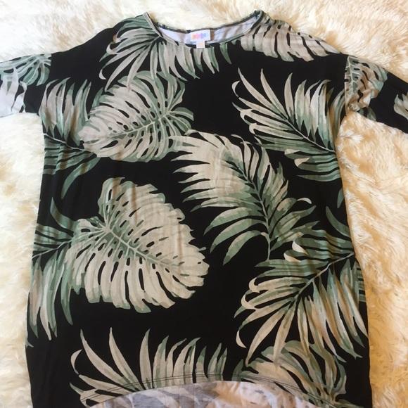 852ca583 LuLaRoe Tops | Palm Leaf Irma Tunic Blouse | Poshmark