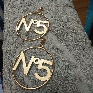 Jewelry - Number 5 earings