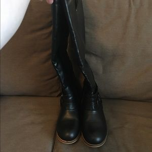 2129f583c7e Journee Collection Shoes - Brand new black wide calf boots size 9