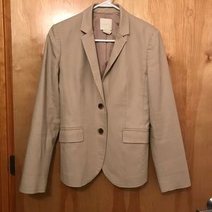 J Crew bi- stretch blazer