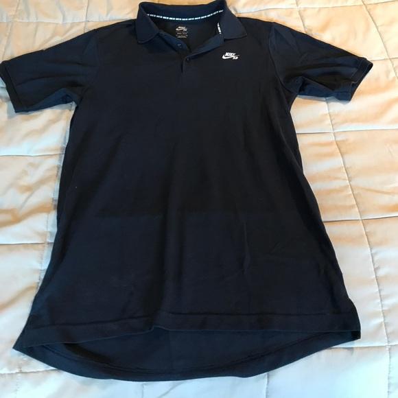 38 off nike other nike sb dri fit polo dark navy blue for Cheap nike sb shirts