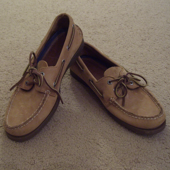 Sperry Top-Sider Men/'s A//O 2-Eye Black Boat Shoe NW//OB