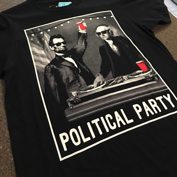 4560ef35 Political Party TShirt by Riot Society Small Men NWT