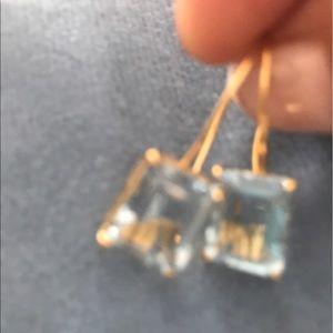 Jewelry - Blue topaz earrings