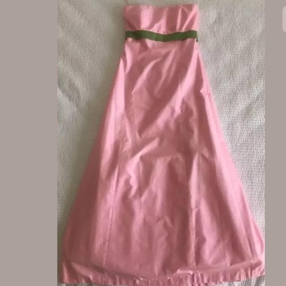 Jenny Yoo Dresses & Skirts - JENNY YOO COLLECTION Dress Pink Green Size 4 Silk