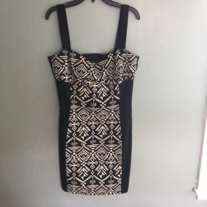 NWOT tribal print dress