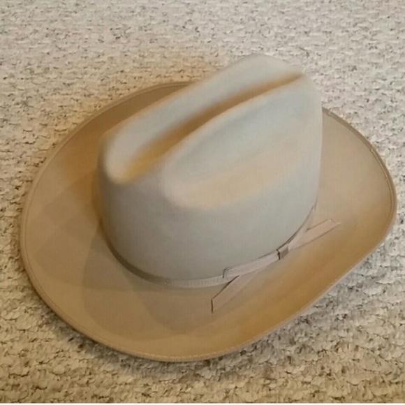 9902cd5c2 Vintage John B. Stetson 3X Beaver Hat 7 1/8