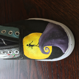 f5805458 Mossimo Supply Co. Shoes | Hand Painted Nightmare Before Christmas ...