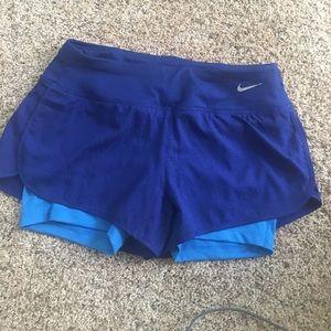 Dark Blue Nike Shorts