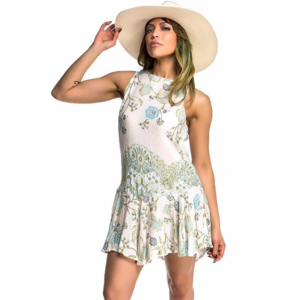 Free People Floral Summer Boho Style Dress