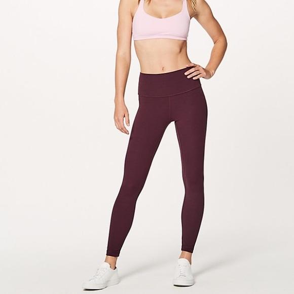 4f18596b32189 lululemon athletica Pants | Nwt Lululemon Align Pant Ii 25 Dark ...