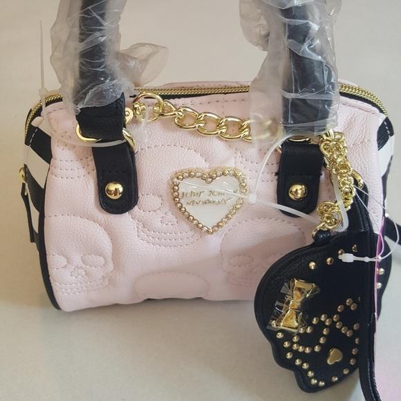43295032479 Betsey Johnson Handbags - 💀👜Betsey Johnson mini skull crossbody