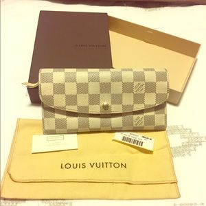 Louis Vuitton Damier Azul Wallet