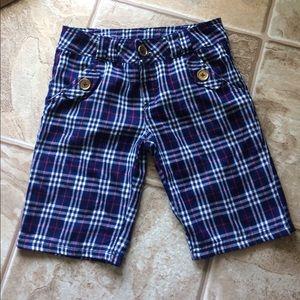 Disney Plaid Boys Shorts