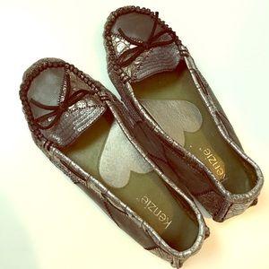 "Kenzie ""Devia"" leather loafers"