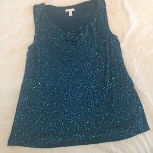 Charter Club sequined top
