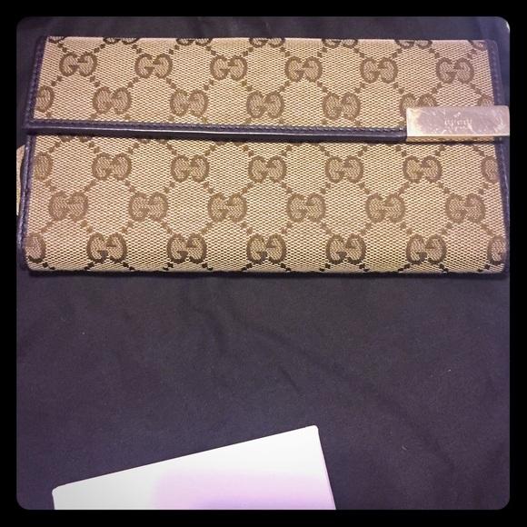 Gucci Handbags - Gucci Dice Continental Wallet