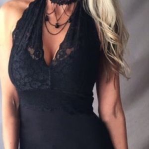 Tops - New! Lace Halter