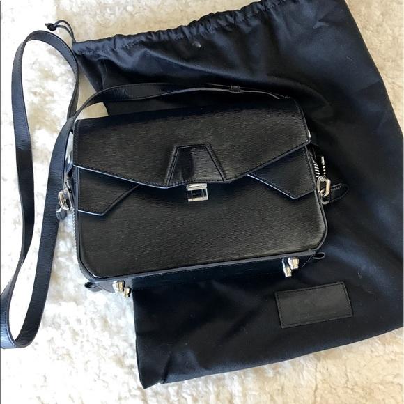 Alexander Wang Bags - Alexander Wang black Tri-Fold shoulder bag