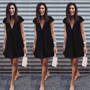 Dresses & Skirts - Cute beach dress or cocktail dress Black