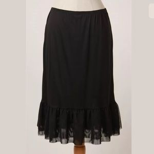 Dresses & Skirts - Plus Size Long Mesh Skirt Extender, Dress Extender