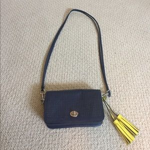 ... real coach bags price drop coach navy blue crossbody bag 24371 64147 3e5673b048d07