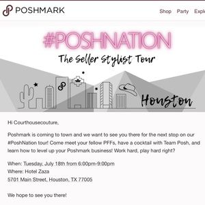 Other - Fun times at the #poshnation event in Houston
