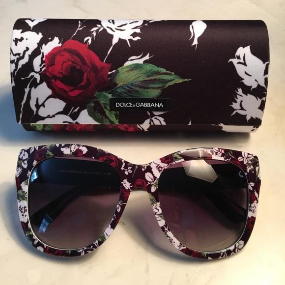 583a9a899d0 NEW Authentic Dolce   Gabbana Sunglasses w Case