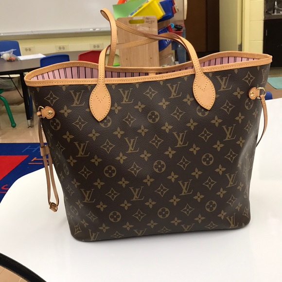 e465de2471a2 Louis Vuitton Handbags - Louis Vuitton Monogram Rose Ballerine Neverfull