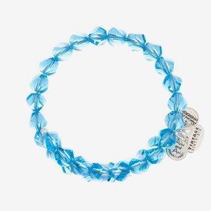 Alex & Ani beaded bracelet in blue
