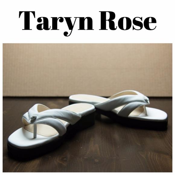 0ceae1211c2d Taryn Rose Tacy Leather Sandals. M 596fadea13302a596a0158e0