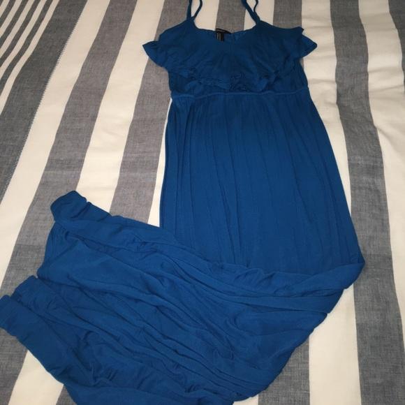 Forever 21 Dresses - Teal Blue Maxi Dress