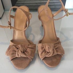 6e8ca903f3ee Michael Kors Shoes - MICHAEL MICHAEL KORS Willa Suede Sandal BNW