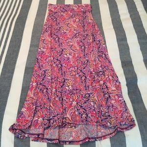 Gorgeous LulaRoe Maxi Skirt