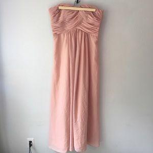 Dresses & Skirts - Blush Pink Bridesmaid Dress / Gown