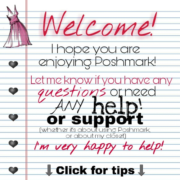 info Other - Welcome to Poshmark! - Tips to Get Started