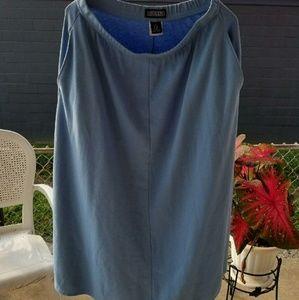Lands end sz 14-16P skirt nice fitting w/ pockets