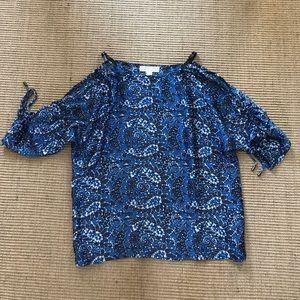 Michael Kors blouse. Open shoulder