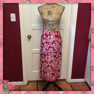 Pretty talbots wrap skirt