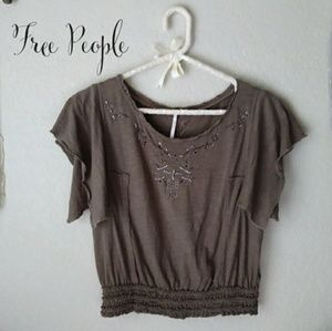 Free People Crop Top Size XS
