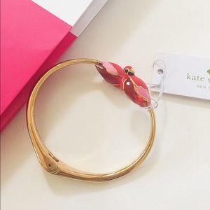 NWT Kate Spade cute bird bangle/bracelet
