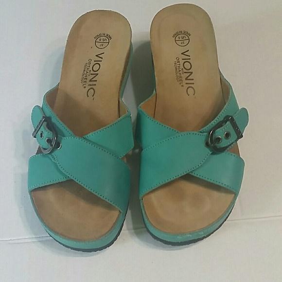 5bd33eb01716 Vionic orthaheel sandals size 6. M 596fc5ba5c12f83a0a001aff