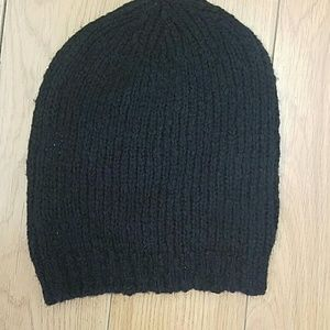 Pam and Gela beanie hat black one size