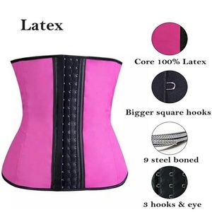 Other - Women Girdle Sport Latex Waist Trainer Cincher